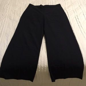 Everlane wide-legged trousers, size 6, Navy blue